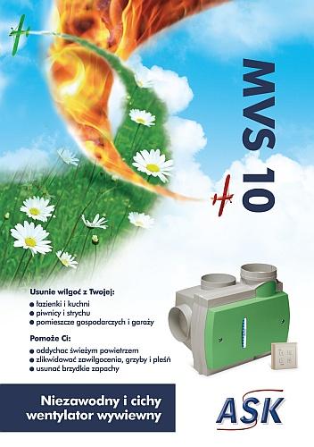 ASK - wentylator wywiewny MVS 10