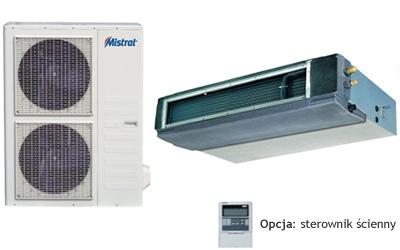 Centrum Klima - klimatyzator kanałowy DC Inverter