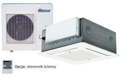 Centrum Klima - klimatyzator kasetonowy DC Inverter