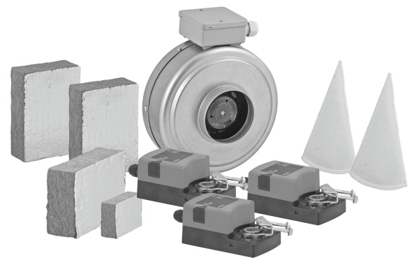 Alnor - urządzenia i elementy pomocnicze