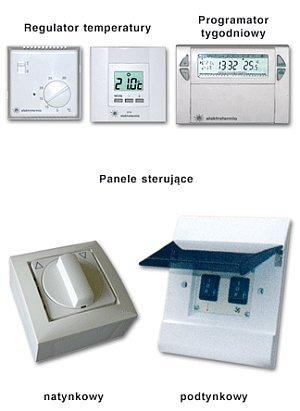 Elektrotermia - panele sterujące