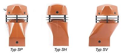 Uniwersal - wentylatory hybrydowe Schiedel/Fenko