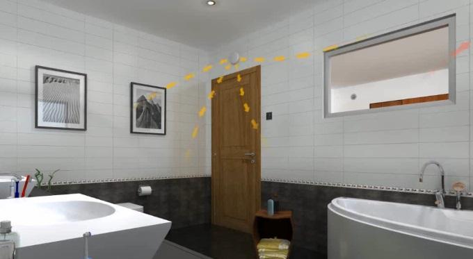 Wentylacja w łazience - wentylatory łazienkowe