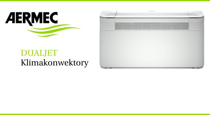 Klimakonwektory Duajet z podwójnym nawiewem powietrza