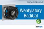 Wentylatory promieniowe RadiCal w systemach klimatyzacji precyzyjnej