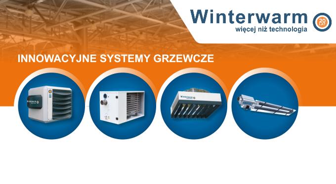 Destratyfikacja powietrza z urządzeniami Winterwarm