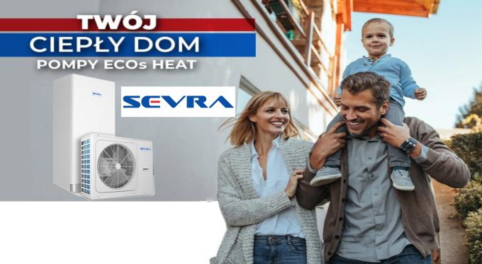 Pompy ciepła i urządzenia klimatyzacyjne SEVRA wygrywają jakością