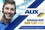 AUX infolinia - profesjonalne wsparcie