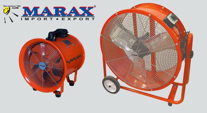 Przemysłowe wentylatory powietrza XARAM Energy