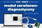 Klimatyzatory SEVRA z modułem serwisowo-diagnostycznym