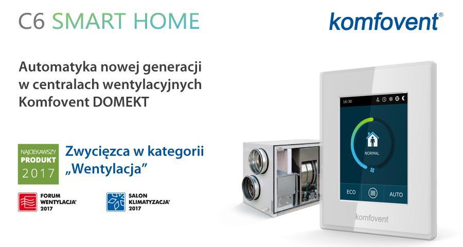 Komfovent C6 Smart Home