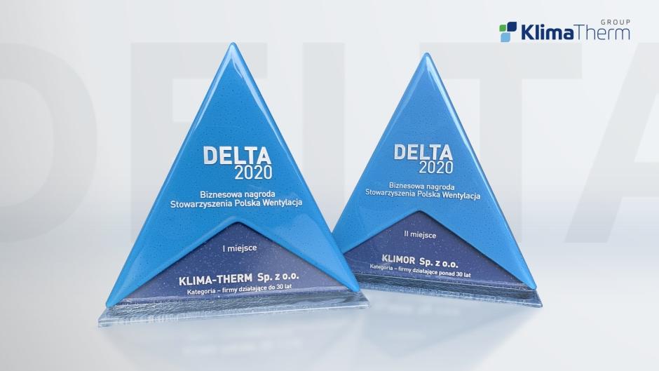 Statuetki DELTA 2020 dla Grupy Klima-Therm