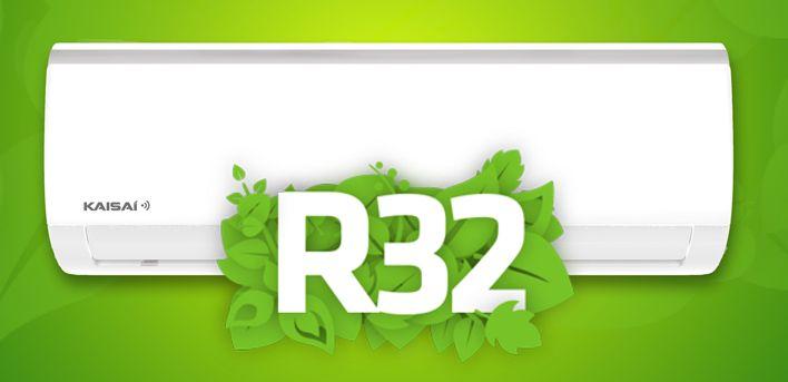 Nowe klimatyzatory KAISAI z czynnikiem R32