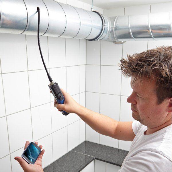 inspekcja za pomocą video endoskopu VE200