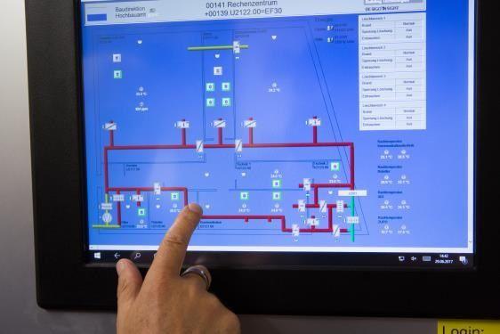 MODBUS-RTU upraszcza sterowanie i umożliwia dokładniejsze monitorowanie wentylatorów ebm-papst.