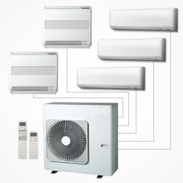 System klimatyzacji typu multisplit - Carline