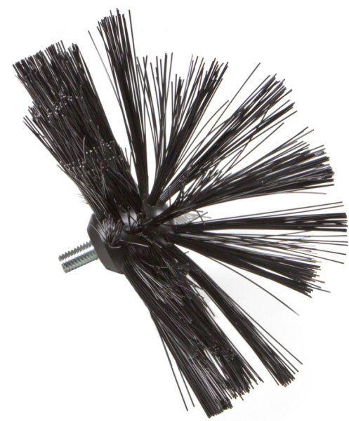 Czyszczenie mechaniczne za pomocą szczotek - szczotka perlonowa półkolista
