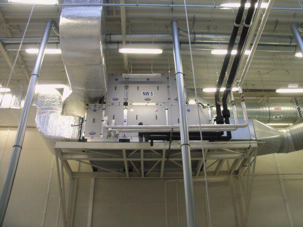 VEBAR - centrale wentylacyjne z odzyskiem ciepła