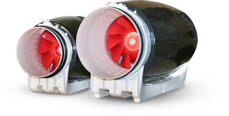 Wentylatory kanałowe HAVACO typu ICMsilent