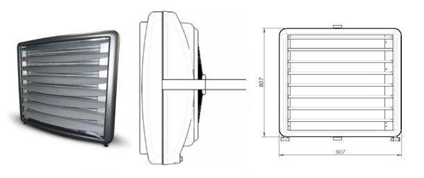Aparaty grzewczo - wentylacyjne Metalplast