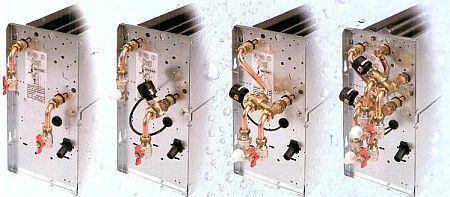 Iglotech - Automatyka hydrauliczna urządzeń może być skonfigurowana ze względu na napięcie sterowania, współczynnik przepływu Kv, typ zaworów