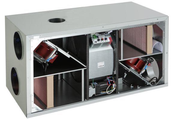 Ventia  - rekuperator KOMFOVENT REGO 600 HE-EC-C4