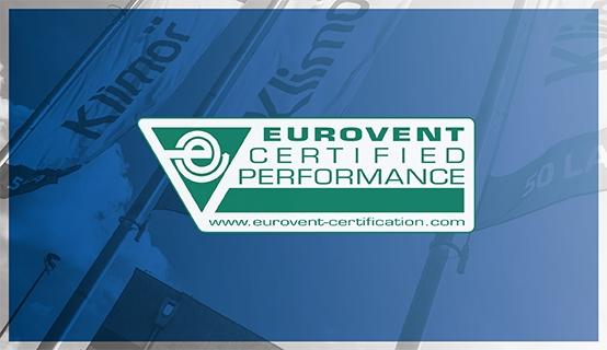 KLIMOR EVO z certyfikatem Eurovent