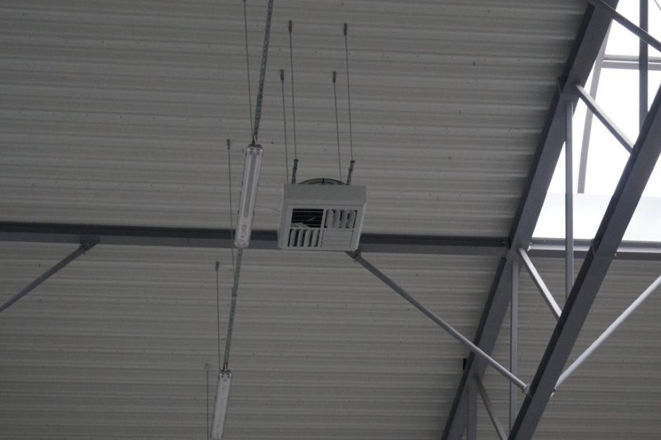 Wydajne ogrzewanie wysokich pomieszczeń - funkcje destratyfikatorów