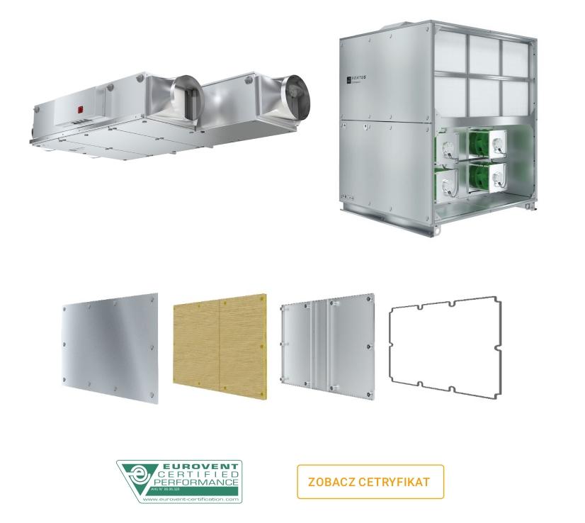 Centrale VENTUS Compact - obudowa
