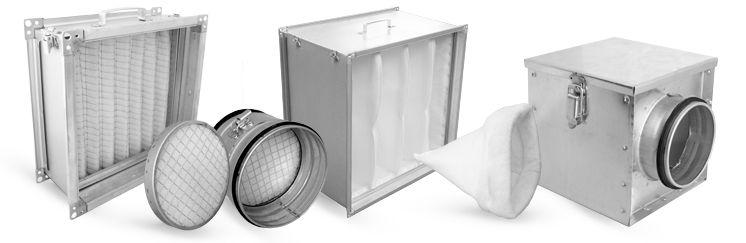 Filtry powietrza w wentylacji