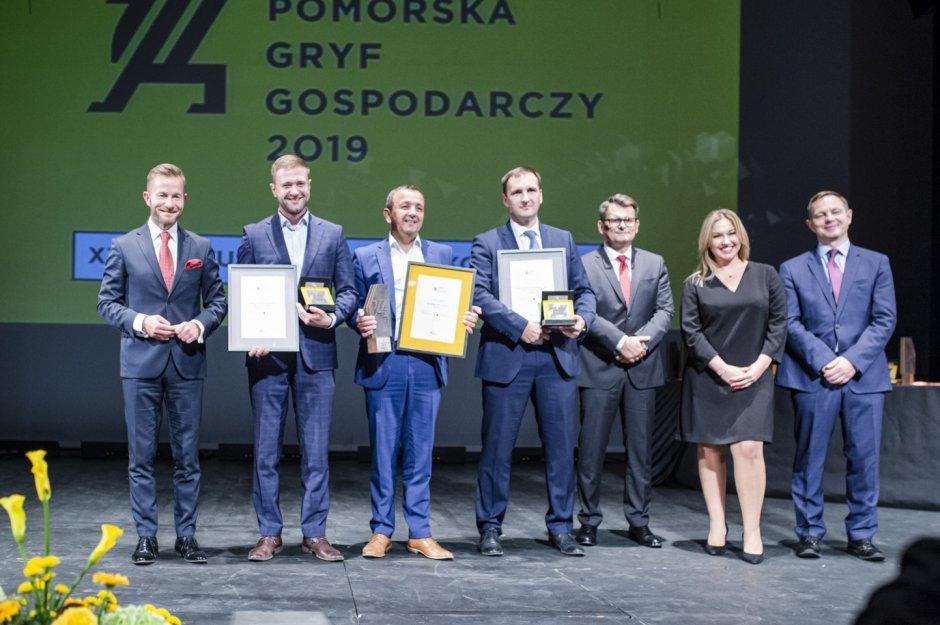 Gala przyznania nagrody Gryfa Gospodarczego