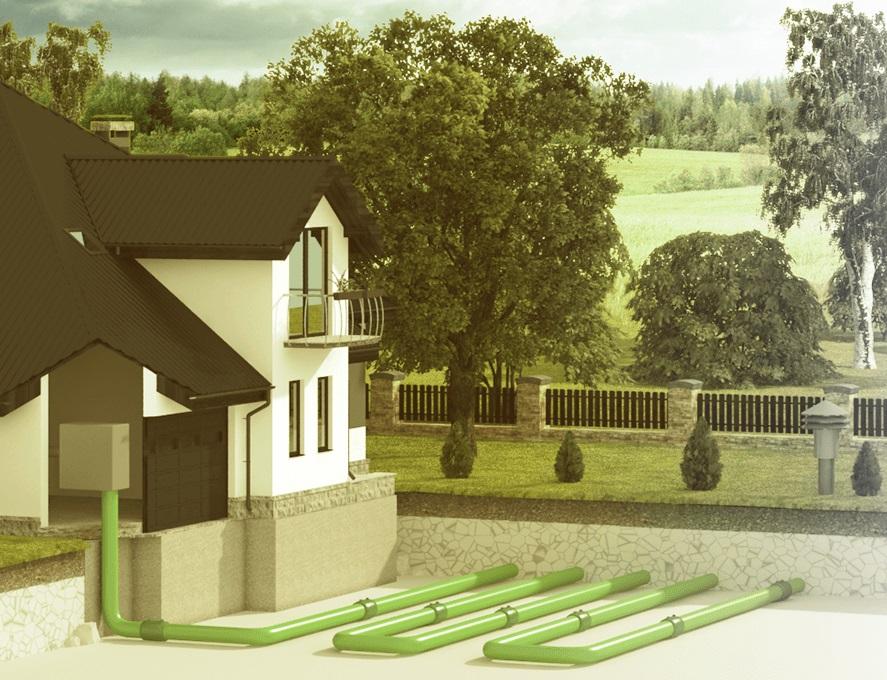 system GeoHeat - Ecoplastol