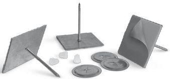 Alnor - gwoździe samoprzylepne GWS do montażu izolacji