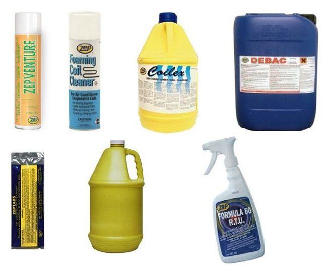 Jak czyścić klimatyzator - jakie środki