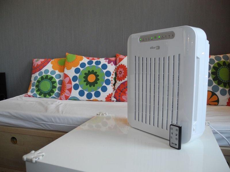 oczyszczacz powietrza Zibro Qlima A25 do 60 m3, przepustowość powietrza 105 m3/h