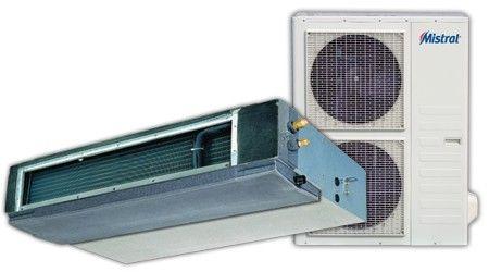Klimatyzator kanałowy Mistral seria DTA Lindab