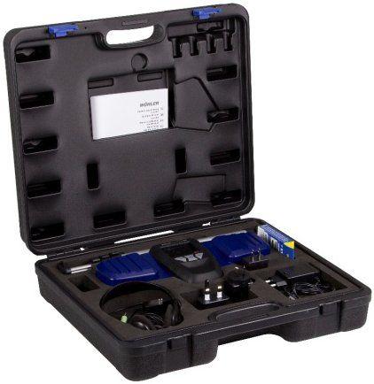 Lokalizator sygnału L200 ? zestaw z drążkiem i słuchawkami  w poręcznej walizce