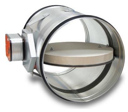 klapa przeciwpożarowa okrągła Klimaoprema FDC40