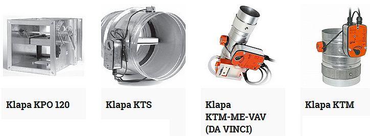 Klapy przeciwpożarowe - zestawienie oferty producentów