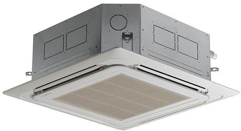 Klimatyzacja w suficie - przegląd klimatyzatorów kasetonowych