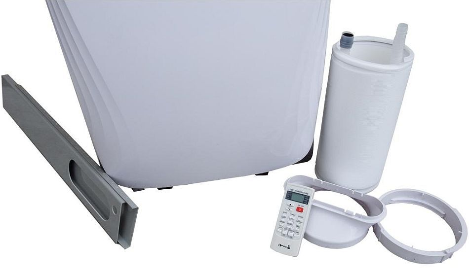 klimatyzator przenośny ARIELLI AM-H12A4 LBR1-EU z funkcją grzania - 3.5 KW/3.3 KW