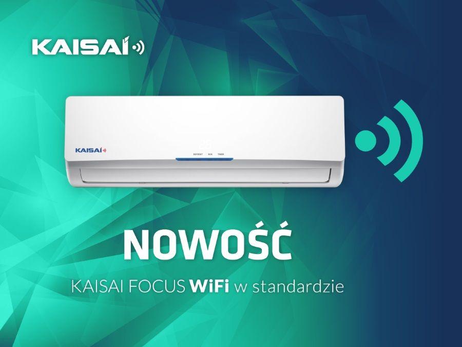 Klimatyzatory KAISAI 2017 z funkcją WiFi w standardzie