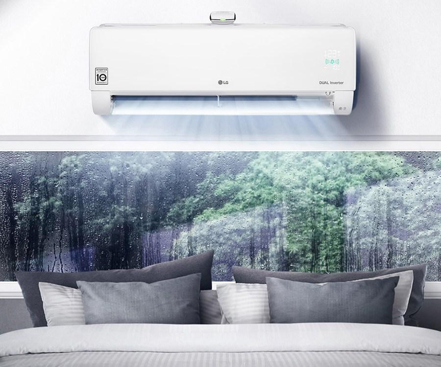 Klimatyzatory LG DUALCOOL z oczyszczaniem powietrza