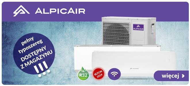 Klimatyzatory AlpicAir od VENTIA. Nowe modele dostępne od ręki z magazynu