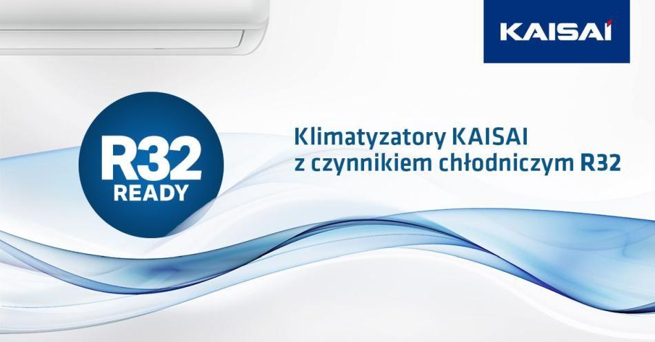 Czynnik chłodniczy R32 w klimatyzatorach KAISAI