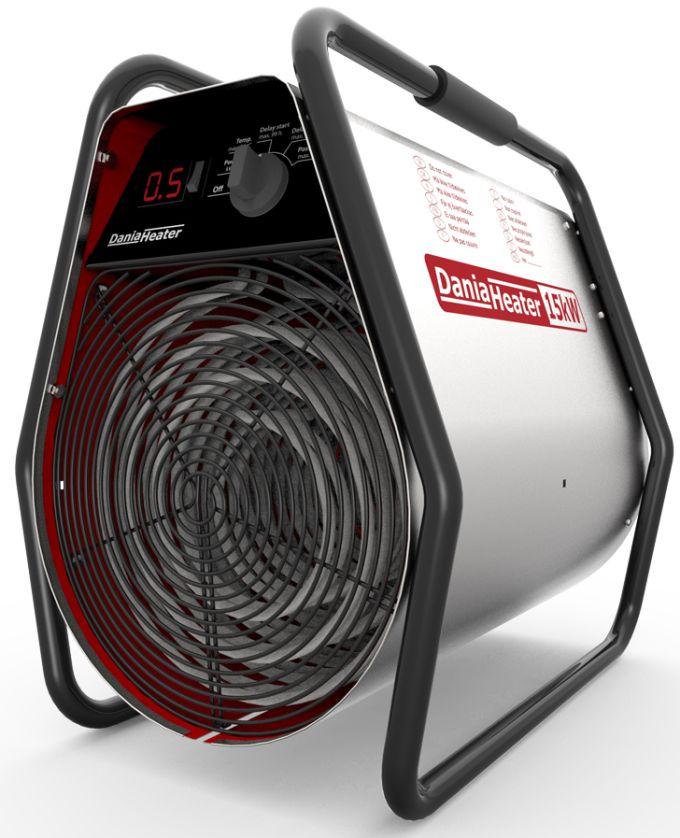 Nagrzewnica XARAM Energy / NXG HEATERS z elektronicznym sterowaniem