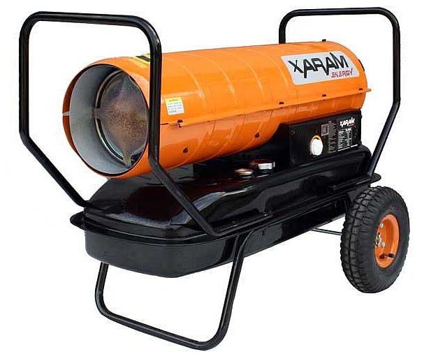 Nagrzewnice olejowe bez odprowadzania spalin - XARAM Energy TK