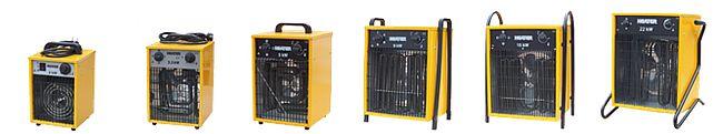 Nagrzewnice elektryczne Xaram Energy