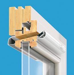Nawiewnik ciśnieniowy SIMPRESS okno drewniane Brevis