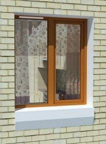 Okno z nawiewnikiem